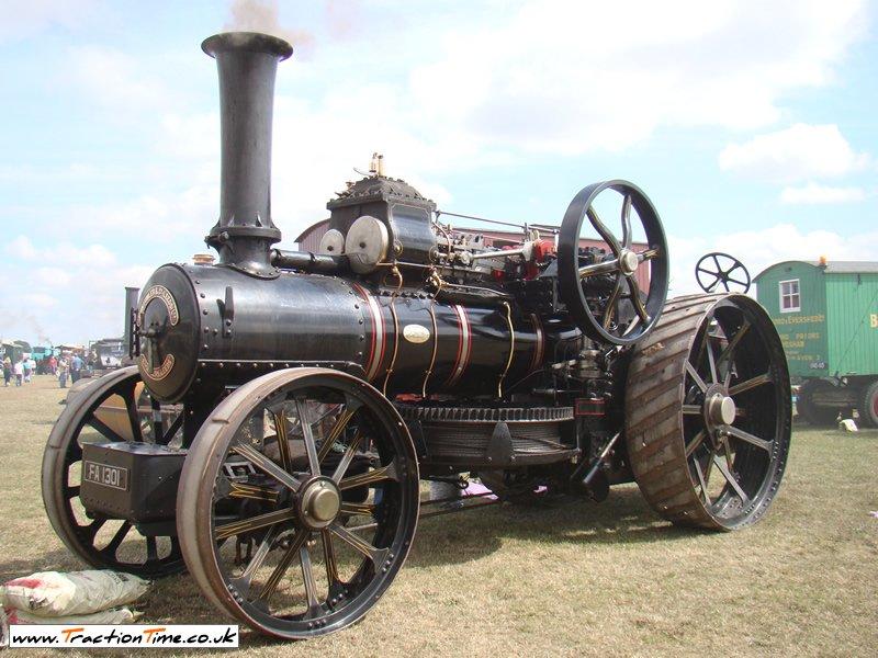 1919 Fowler K7 Ploughing Engine (FA1301) Arthur Ashmole 10nhp Engine No  15278
