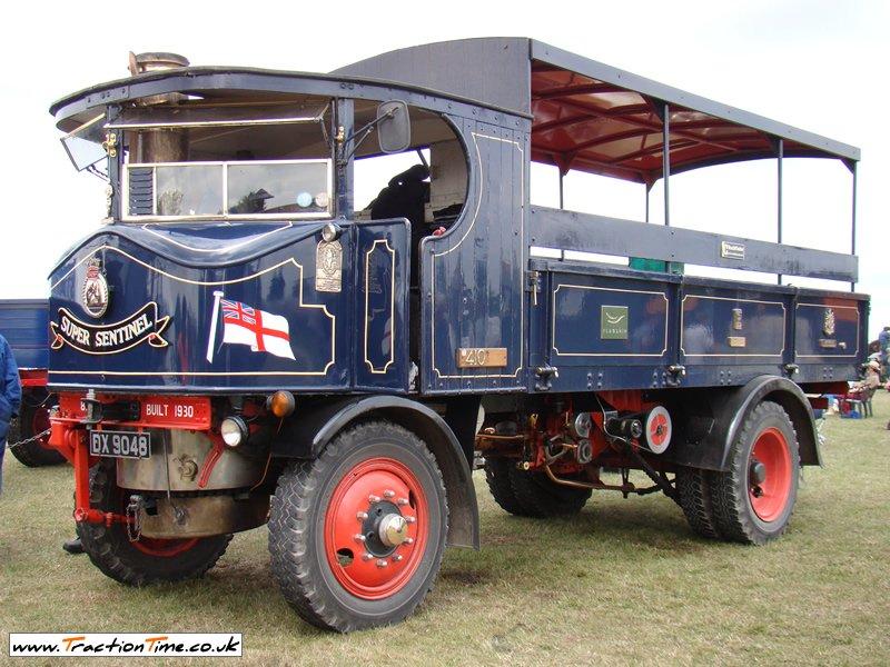 1930 Sentinel Wagon (DX9048) HMS Sultan Engine No 8393